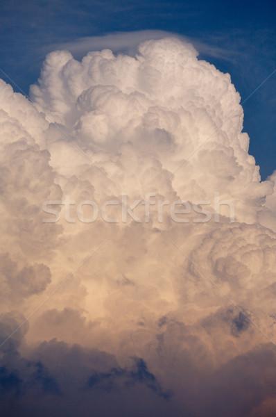 огромный Storm облаке тип Thunder вечер Сток-фото © skylight