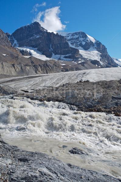 ледник воды снега горные среде Канада Сток-фото © skylight