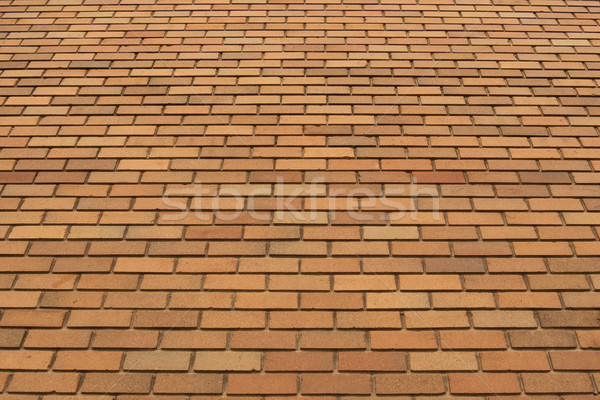 Orange Brick Wall Texture 2 Stock photo © skylight