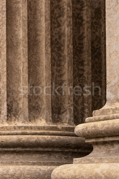 Corinthian Columns Detail 3 Stock photo © skylight