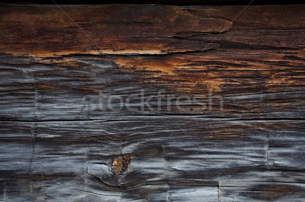 старое дерево текстуры подробность стены древесины совета Сток-фото © skylight