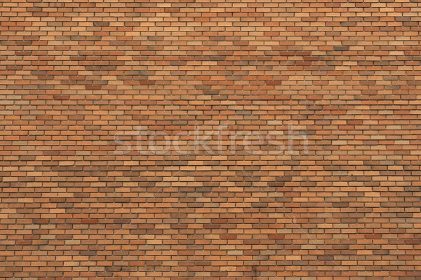 Orange Brick Wall Texture Stock photo © skylight