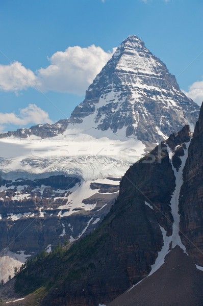 Stock photo: Mount Assiniboine in the Rocky Mountains of Canada