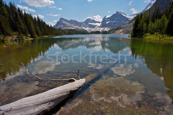 Sunburst Lake Rocky Mountains Stock photo © skylight