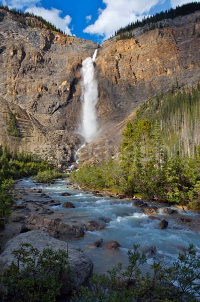 Takkakaw Falls in Yoho National Park Stock photo © skylight
