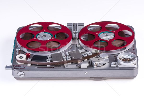 Reel to reel audio tape recorder ws 1 Stock photo © skylight
