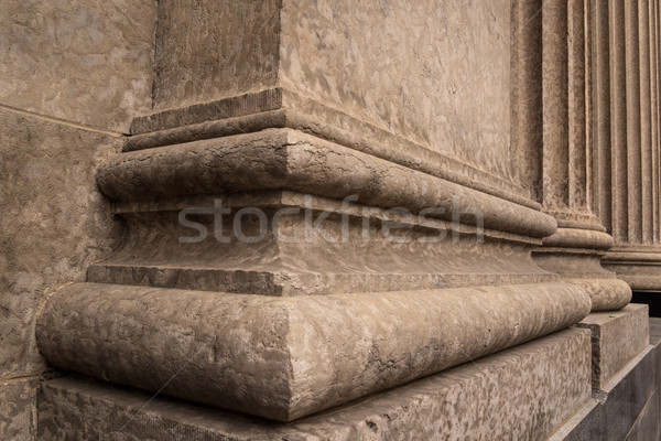 Corinthian Columns Base Detail 3 Stock photo © skylight