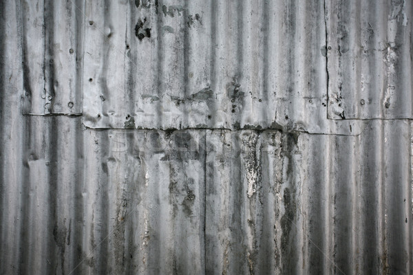 металл стены нефть окрашенный старые Сток-фото © skylight