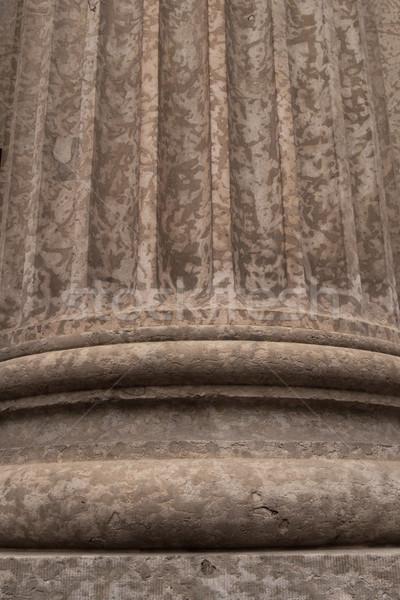 列 詳細 建築ディテール スタイル 石 ストックフォト © skylight