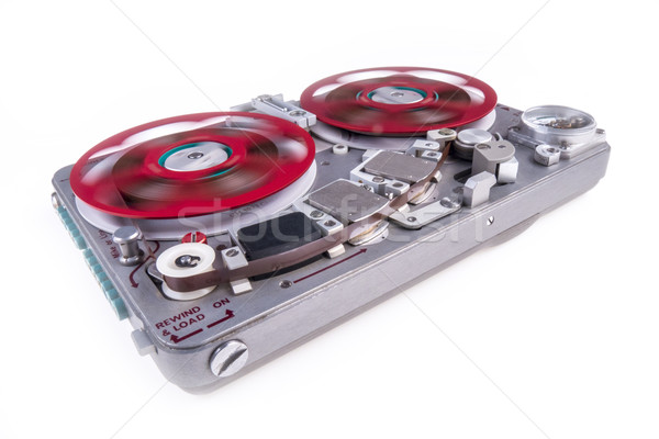 Reel to reel audio tape recorder ws 2 Stock photo © skylight