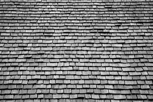 крыши кедр древесины текстуры шаблон Сток-фото © skylight