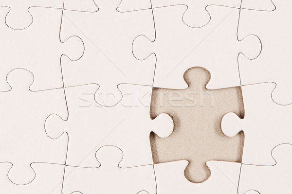 Beyaz parça kayıp soyut arka plan Stok fotoğraf © SLP_London