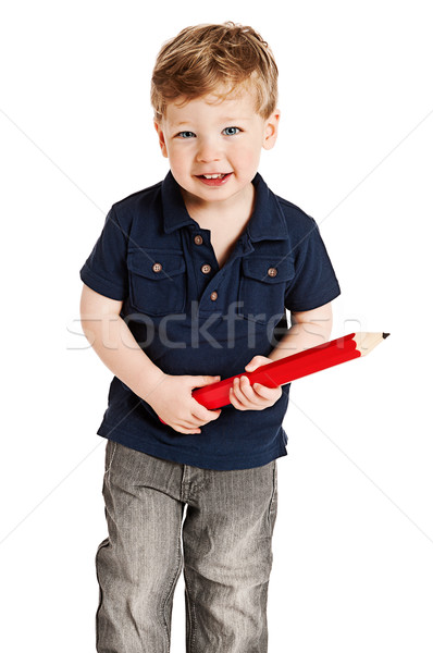Erkek dev kalem sevimli büyük Stok fotoğraf © SLP_London