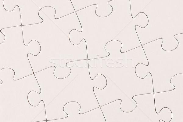 Beyaz soyut arka plan anahtar bilmece Stok fotoğraf © SLP_London