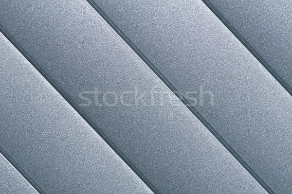 Silver Surface Detail of Roller Blind Stock photo © SLP_London