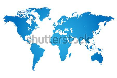 World Map Illustration Stock photo © smarques27