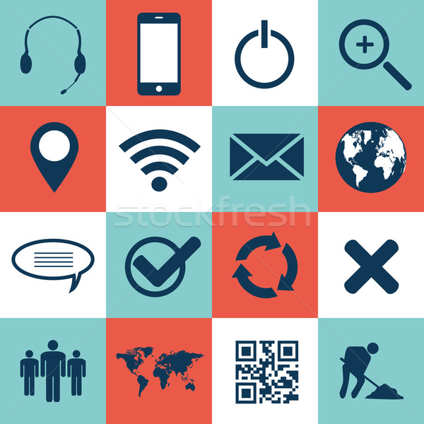 Web and mobile icons Stock photo © smarques27