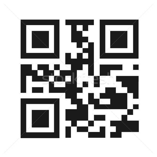 QR Code Vector Illustration Stock photo © smarques27