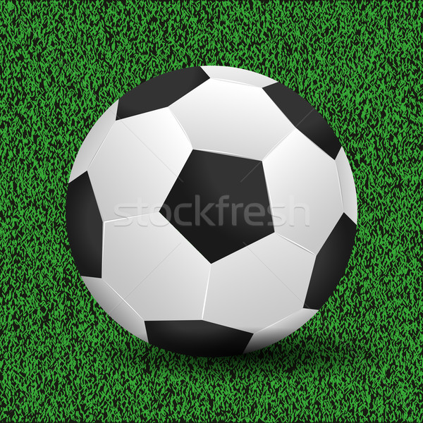 Soccer ball vector illustration Stock photo © smarques27