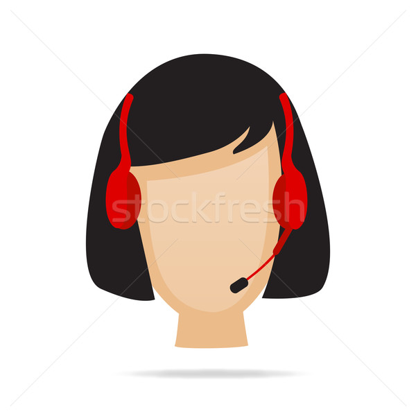 Customer Service Support Illustration Stock photo © smarques27