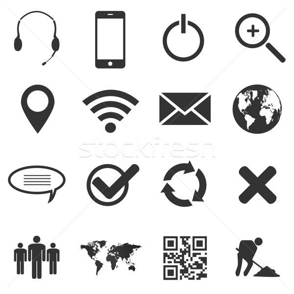 ウェブ 携帯 コンピュータ 世界中 世界 ストックフォト © smarques27