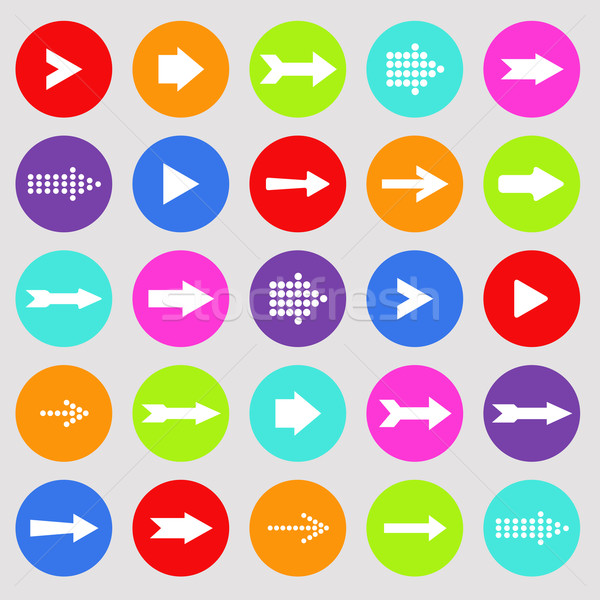 Colorful arrows illustration Stock photo © smarques27