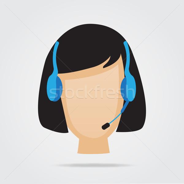 顧客サービス サポート 実例 女性 電話 電話 ストックフォト © smarques27