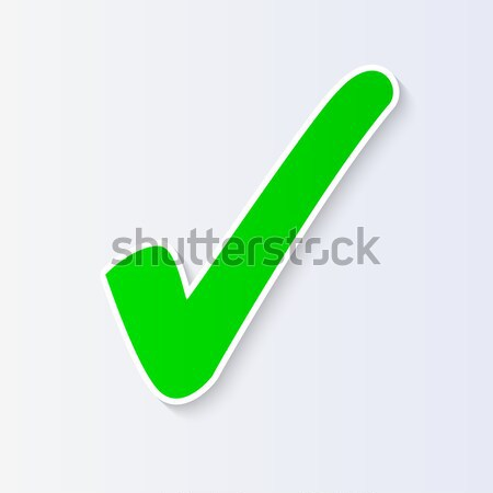 Check Mark Vector Illustration Stock photo © smarques27