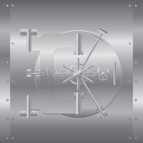 Bank safe vector illustration Stock photo © smarques27