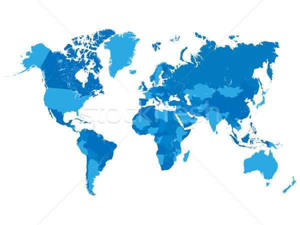 世界地図 コンピュータ 世界 芸術 教育 海 ストックフォト © smarques27