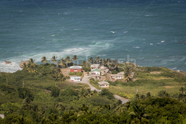 Aerial View of St Margarets, Barbados Stock photo © smartin69