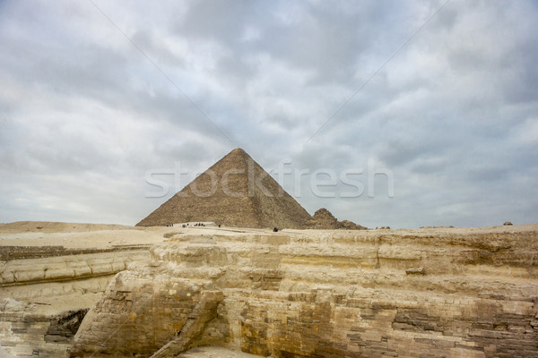 The Great Pyramid of Khufu at Giza Stock photo © smartin69