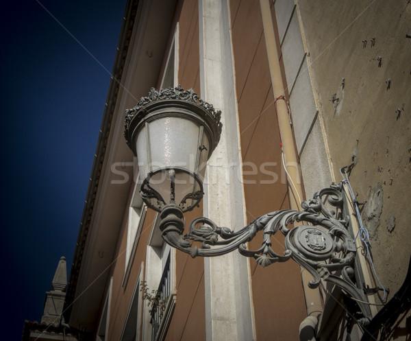 Ornate Street Lamp Stock photo © smartin69