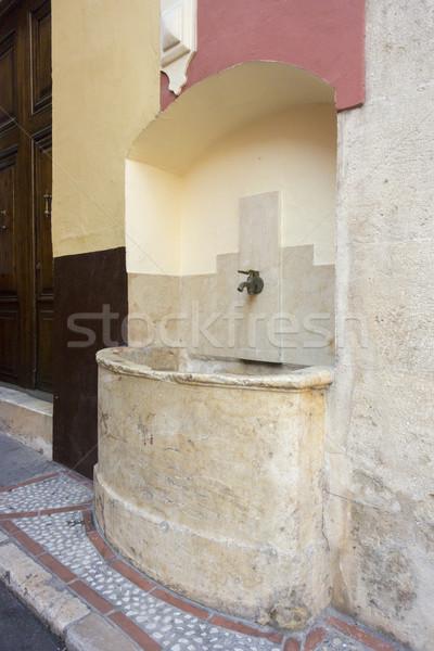 çeşme şehir İspanya bir çok eski Stok fotoğraf © smartin69