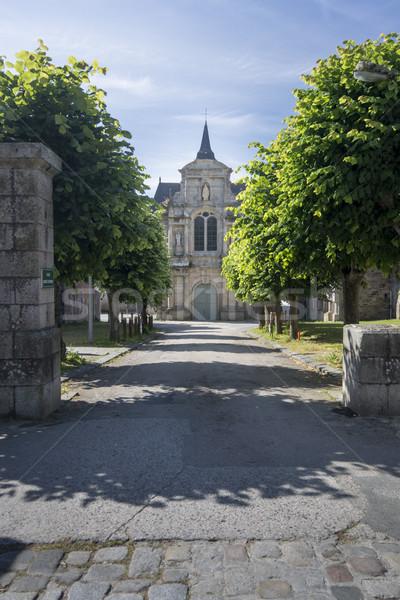 święty kaplica kościoła budynków kamień Windows Zdjęcia stock © smartin69