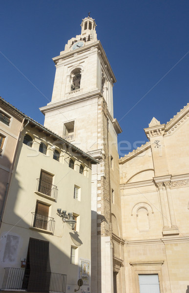 Katedral İspanya bazilika Valencia şehir Stok fotoğraf © smartin69