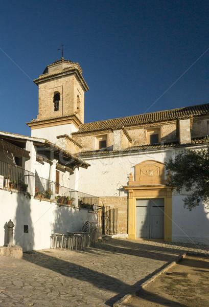 Saint Joseph's Hermitage, Xativa, Spain Stock photo © smartin69