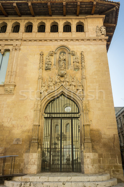 Bina detay İspanya giriş eski Stok fotoğraf © smartin69