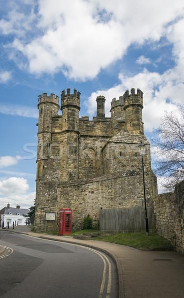 Strijd abdij sussex Engeland Rood architectuur Stockfoto © smartin69