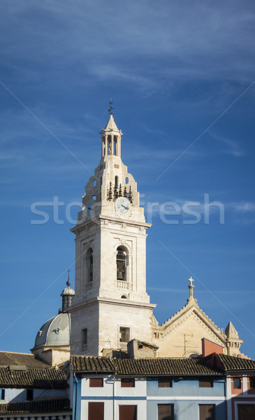 İspanya kule katedral Stok fotoğraf © smartin69