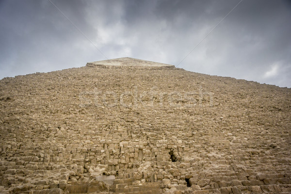 Pyramid of Khafre Stock photo © smartin69