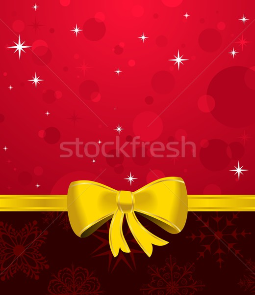 Christmas packing or background Stock photo © smeagorl
