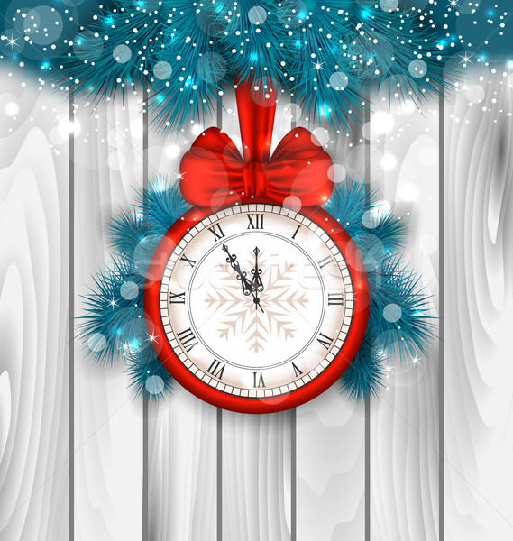 New Year Midnight Shimmering Background Stock photo © smeagorl