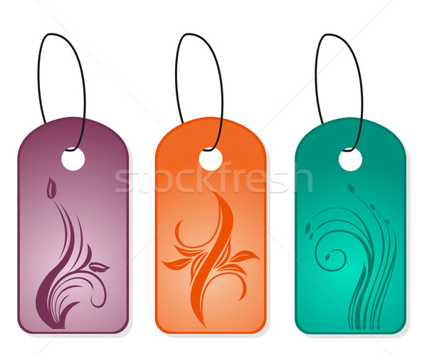 Set bookmark designs Stock photo © smeagorl