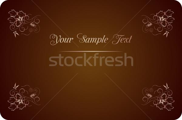 Lluxury background for design Stock photo © smeagorl