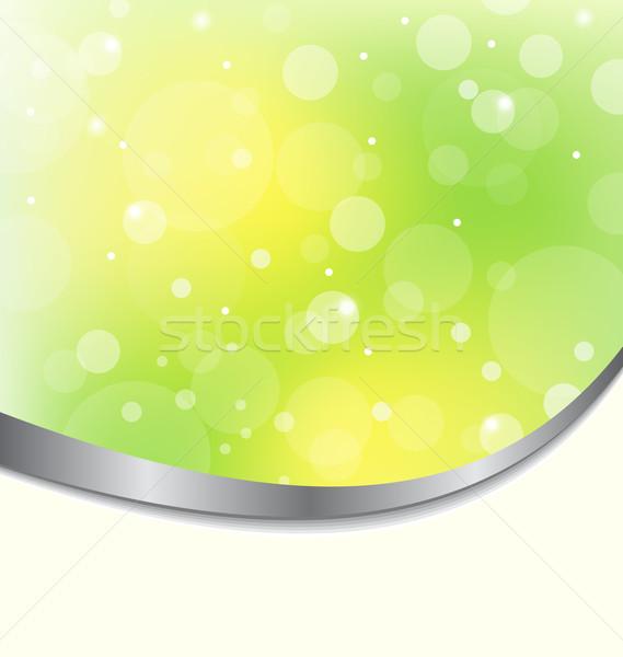 抽象的な エコ 薄緑 実例 春 芸術 ストックフォト © smeagorl