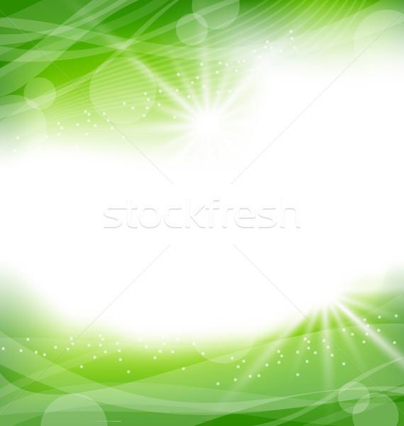 çevre dostu örnek doku dizayn çerçeve yaz Stok fotoğraf © smeagorl