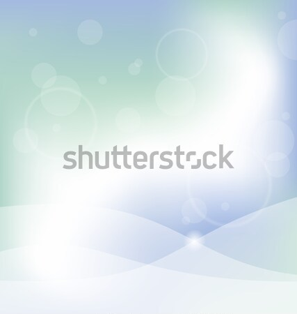 Abstract Blue Glowing Background Stock photo © smeagorl
