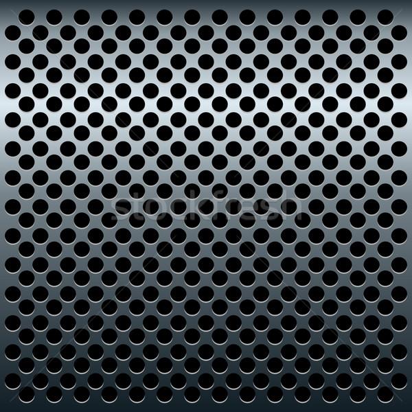 Illustration of titan metalic texture for design Stock photo © smeagorl