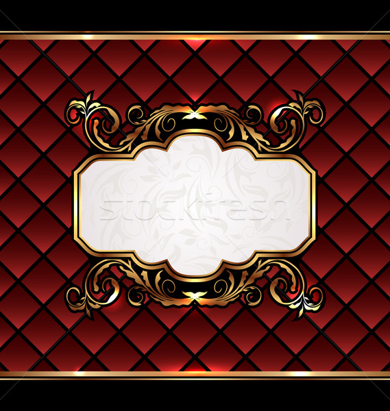 Vintage aristocratic emblem, grand background Stock photo © smeagorl